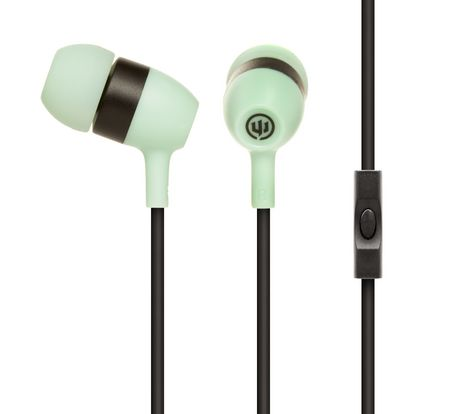 Image For Wicked Audio Drive 600cc Headphones With Microphone - Teal