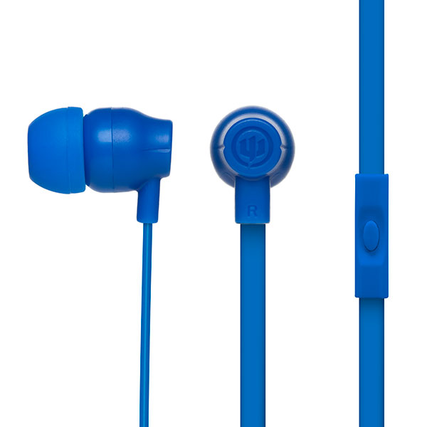 Image For Wicked Audio Drive 750cc In-Ear Headphones w/Mic - Blue