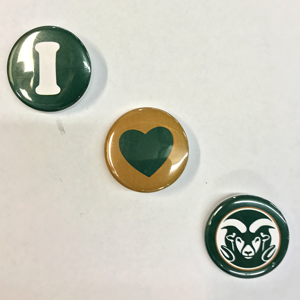 Image For CSU Mini Button 3 Pack