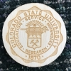 Image for CSU Seal Laser Engraved Wood Magnet