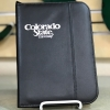 Image for Black Colorado State University Jr. Leather Zipper Padfolio
