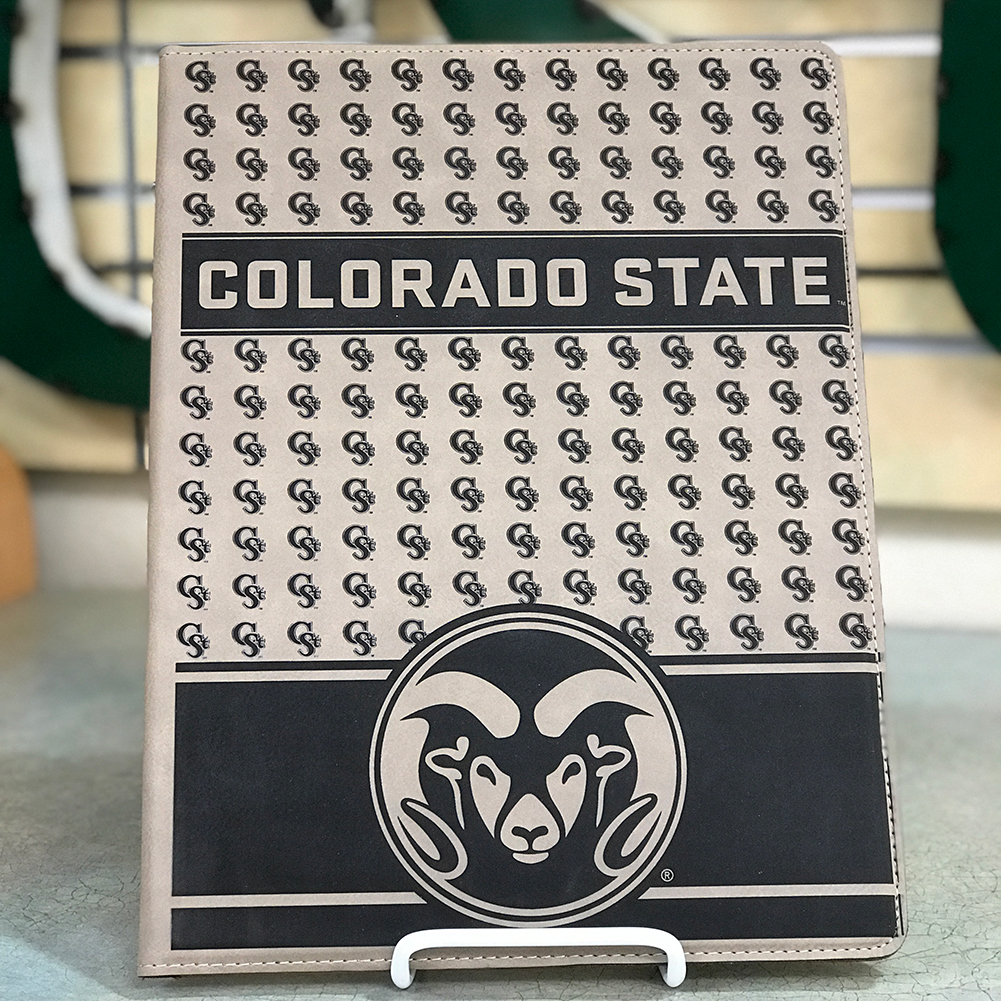 "Image For Colorado State University ""Laramie"" Vegan Leather Padfolio"