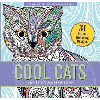 Image for Cool Cats Coloring Book