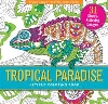 Image for Tropical Paradise Coloring Book