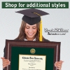 Cover Image for CSU Newport Diploma Frame with Tassel Display