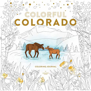 Image For Colorful Colorado Coloring Book by Amanda Lenz