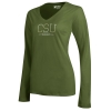 Image for Cargo Olive Colorado State V Neck Long Sleeve by Gear