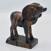 "Cover Image for Handcrafted 5"" Ironwood Ram Sculpture"