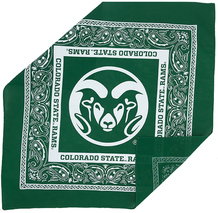 "Image For 21"" CSU Cotton Bandana"