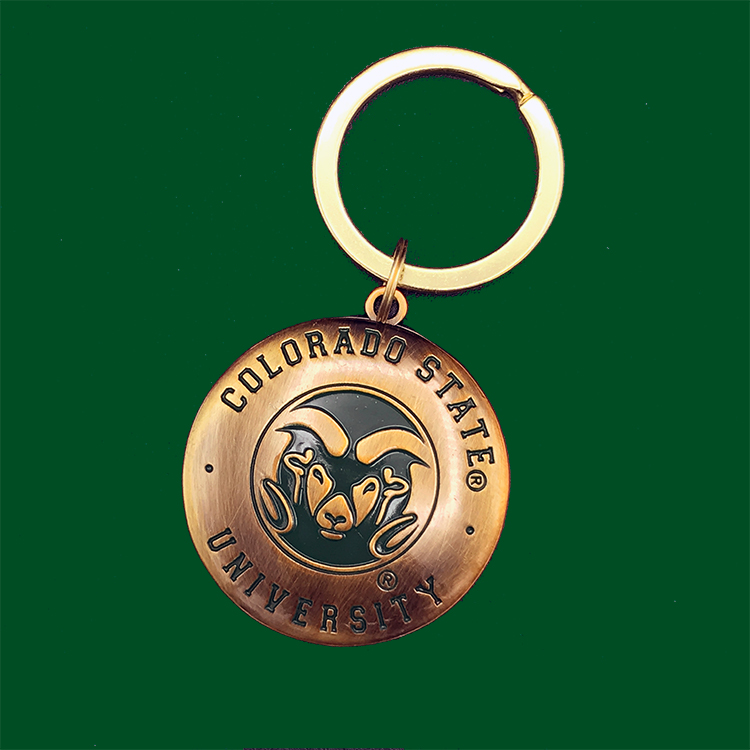 Image For CSU 1831 Medallion Key Tag