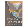 Image for Poudre Canyon Poster by CSU Alum Blair Hamill