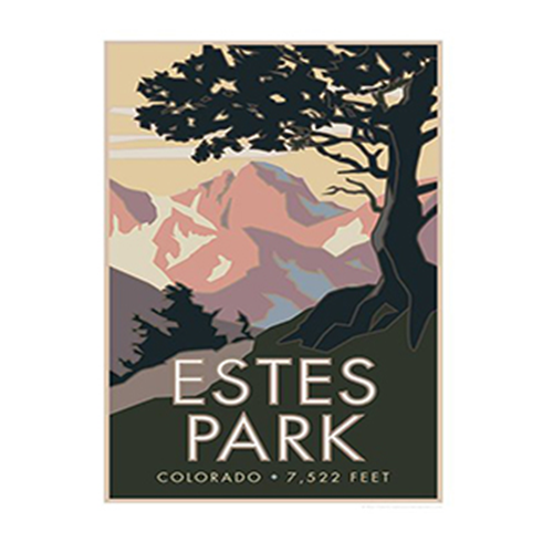 Image For Estes Park Poster by CSU Alum Blair Hamill