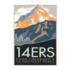 Cover Image for 14ers Poster by CSU Alum Blair Hamill
