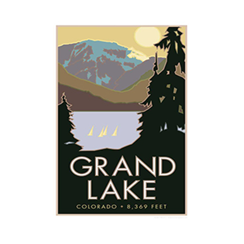 Image For Grand Lake Poster by CSU Alum Blair Hamill