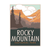 Image for Rocky Mountain National Park Poster by CSU Alum Blair Hamill