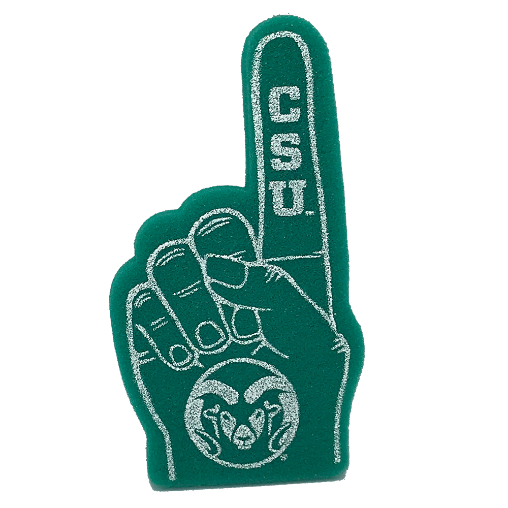 Image For CSU Rams Mini Green Foam Finger