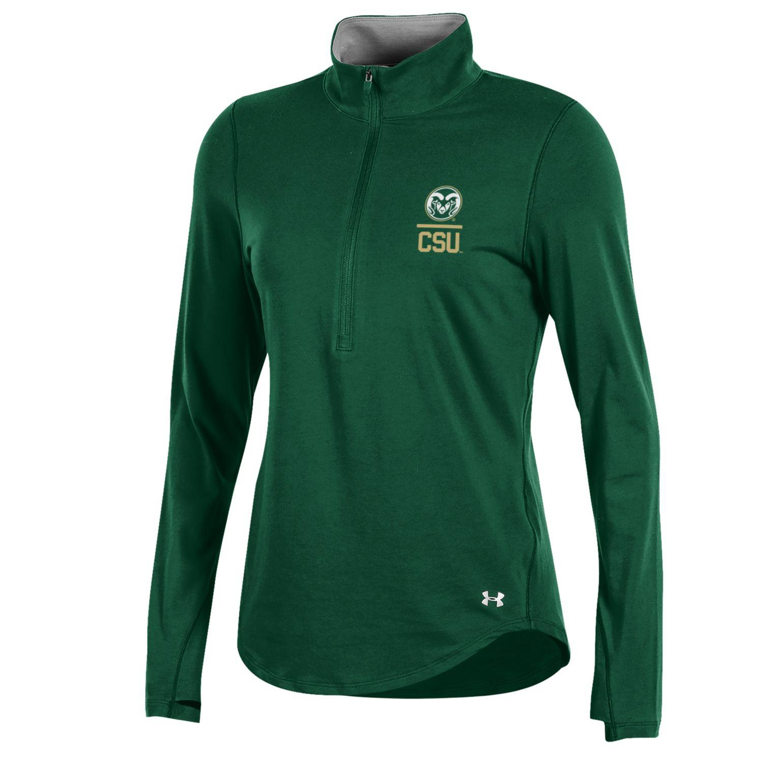 Image For Green Colorado State University 1/2 Zip by Under Armour