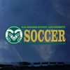 Image for CSU Rams Soccer Decal