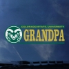 Image for CSU Rams Grandpa Decal