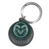Image for CSU Mom Green Ram Head Key Tag