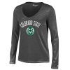 Image for Charcoal Colorado State University V-Neck by Champion
