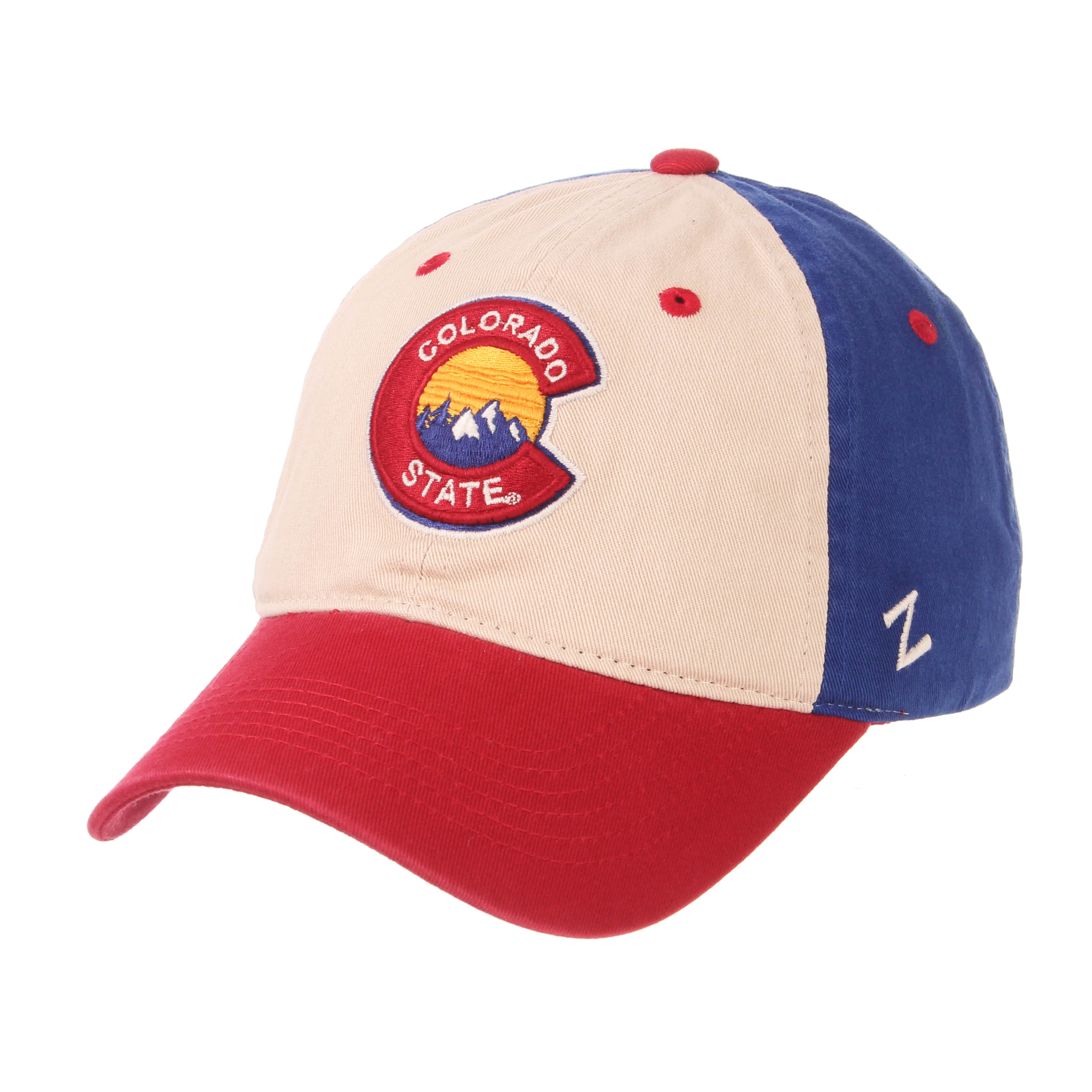 69c9b18151c Cover Image For Red White blue Colorado University Cap By Zephyr
