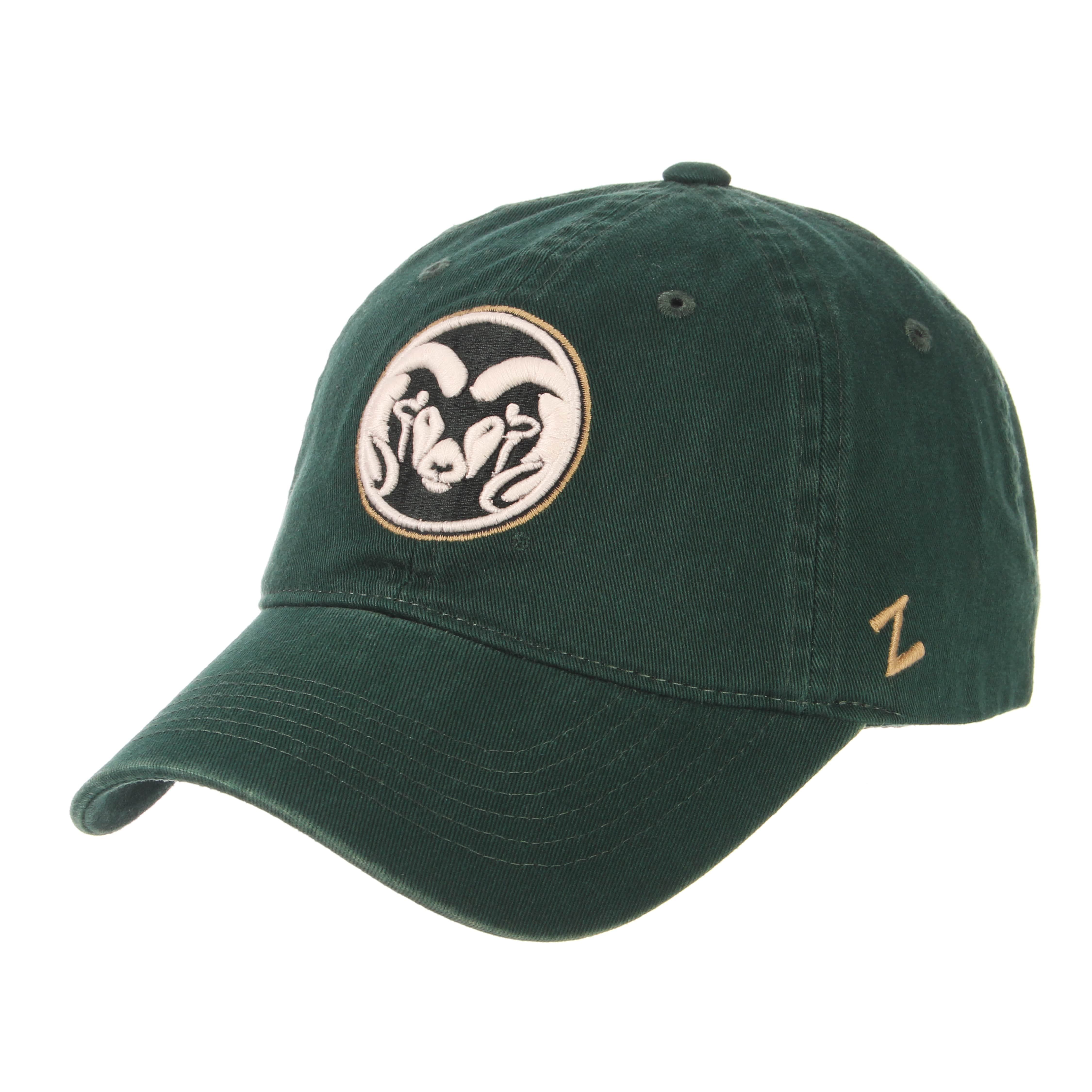 Image For Forest Green Colorado State University Hat By Zephyr