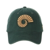Image for Forest Green Ram Horn Colorado State University zephyr Cap