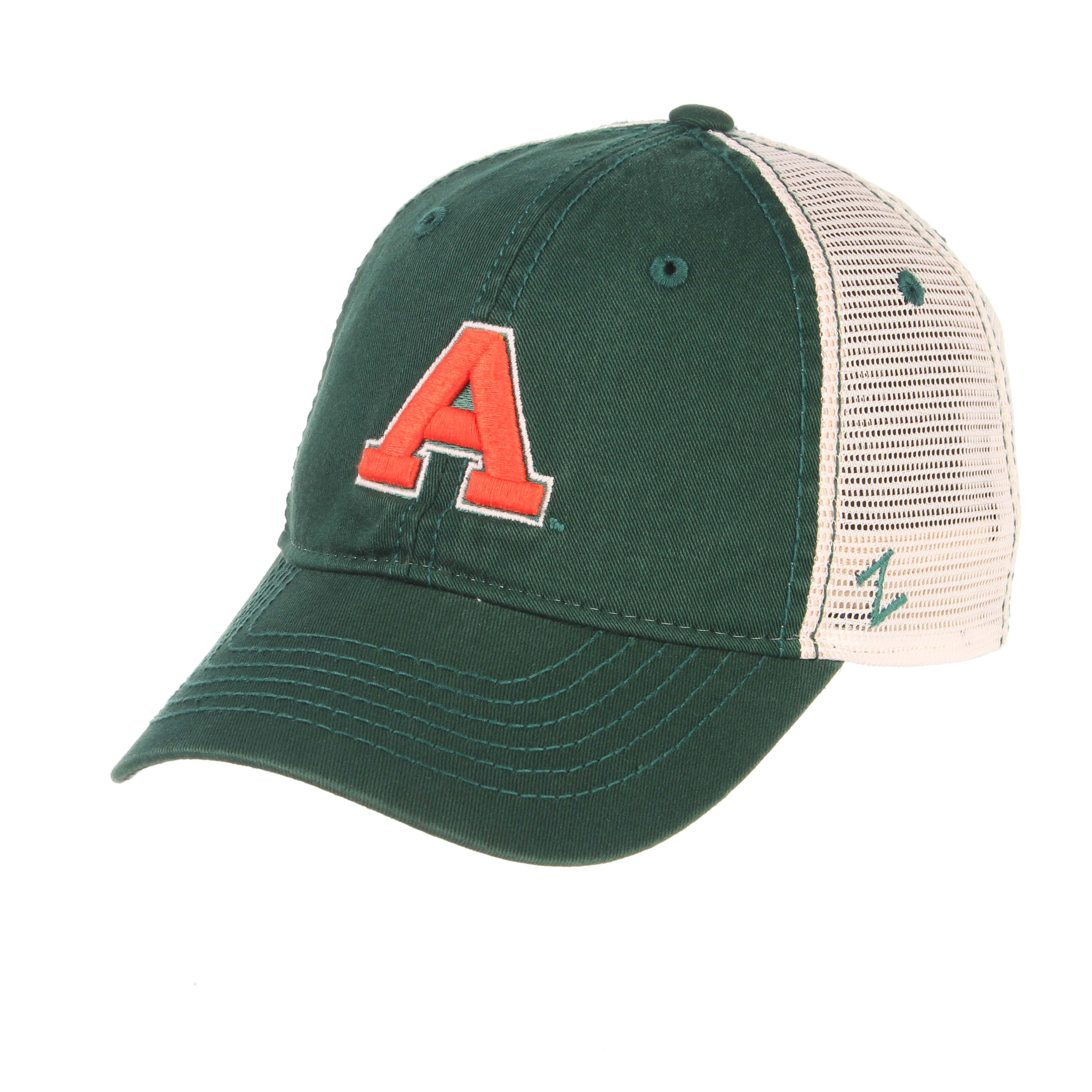 "Image For Dark Green Colorado State University ""A"" Aggie hat by Zephyr"