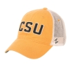 Image for Gold Colorado State University Mesh Hat by Zephyr