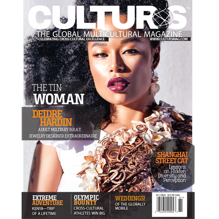 Cover Image For Culturs Magazine - Spring 2018 Issue
