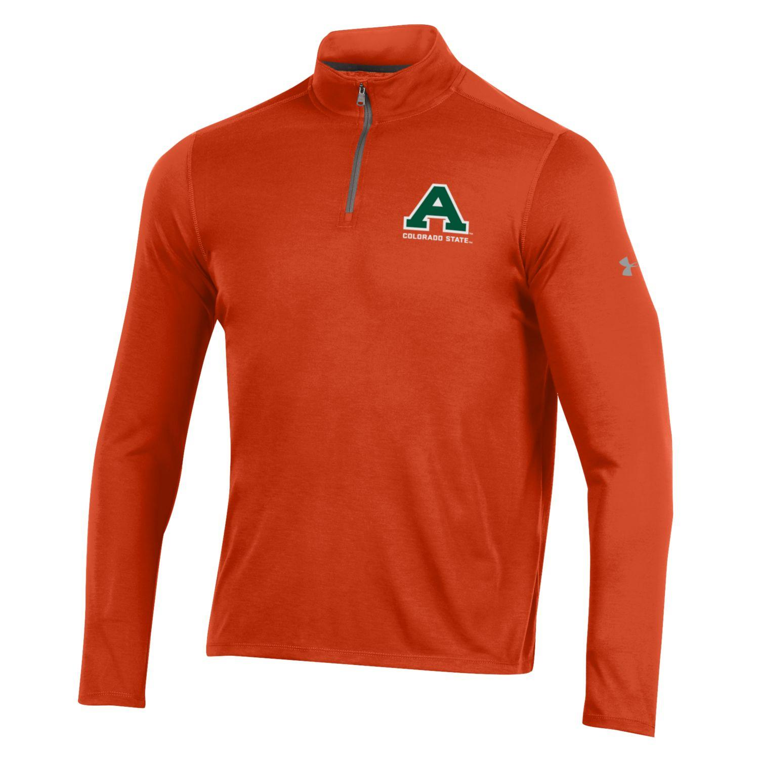 Image For Dark Orange Full Sleeve Old Aggie Under Armour Tee