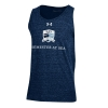 Image for Semester At Sea Midnight Blue Sleeveless Tee by Under Armour