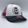 Cover Image for Zephyr Men's Grey Ram Head Stars and Strips 32/5 Hat