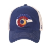 Image for Blue Colorado State Pride Ram Horn Mesh Hat by Zephyr