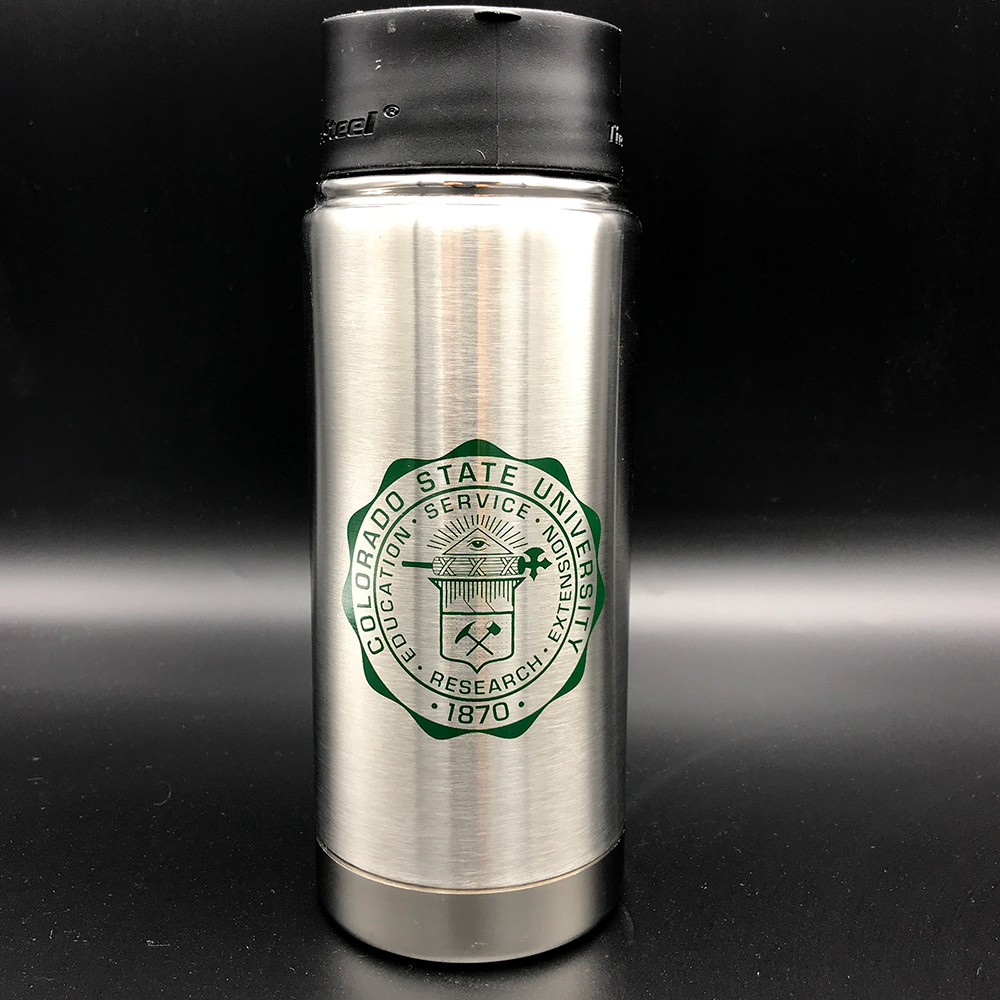 Cover Image For Stainless Steel Colorado State University Seal Tumbler