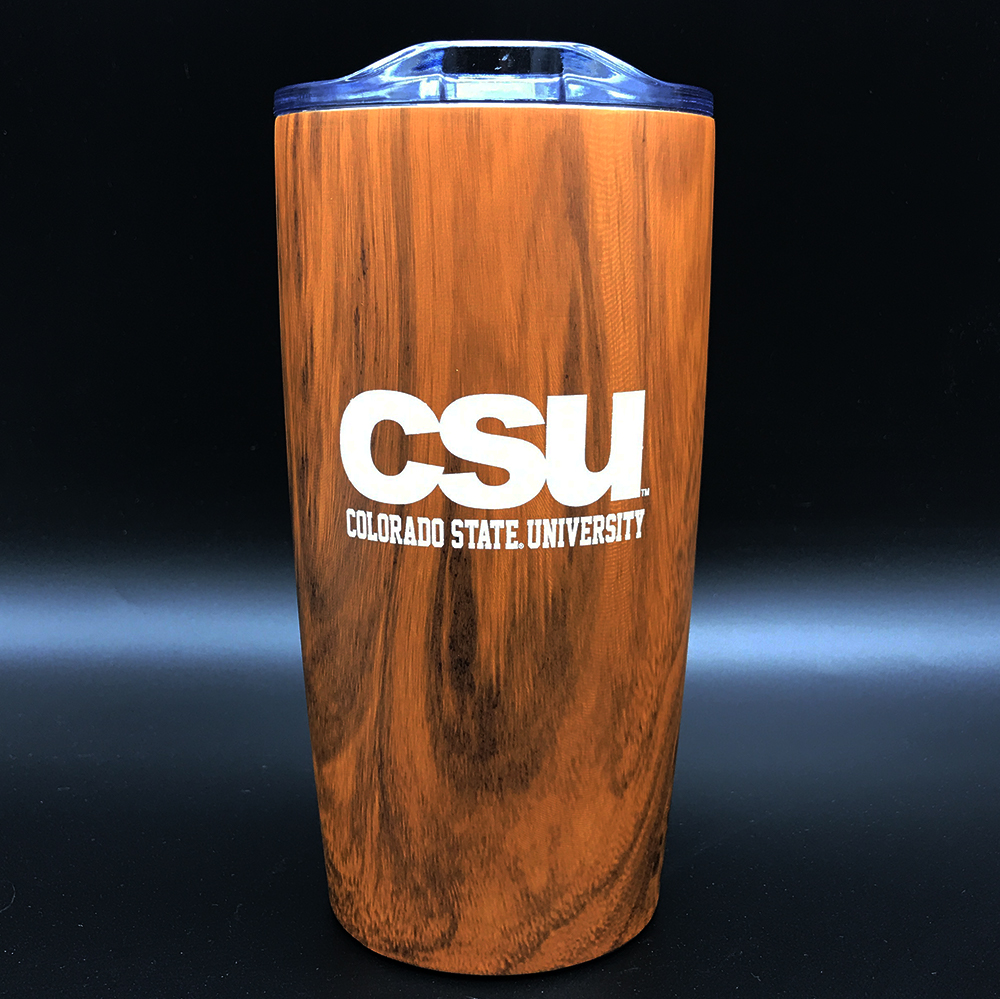 Image For CSU Brown Woodsy Tumbler