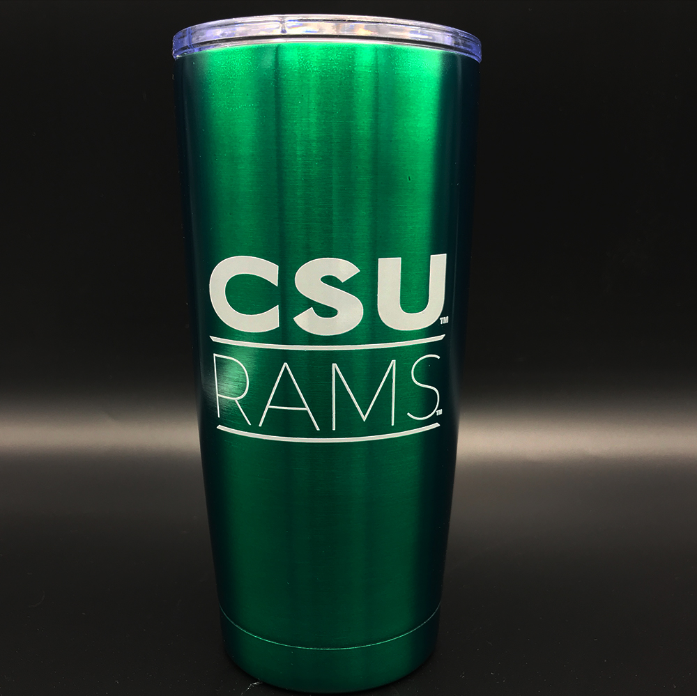 Cover Image For Green CSU Infinity Tumbler