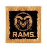 Image for Colorado State University Ram Head Wine Barrel Coaster