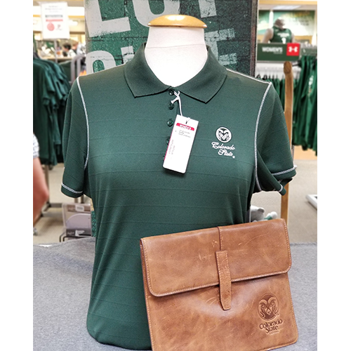 Cover Image For Women's CSU Rams Professional Pine Polo by Antigua