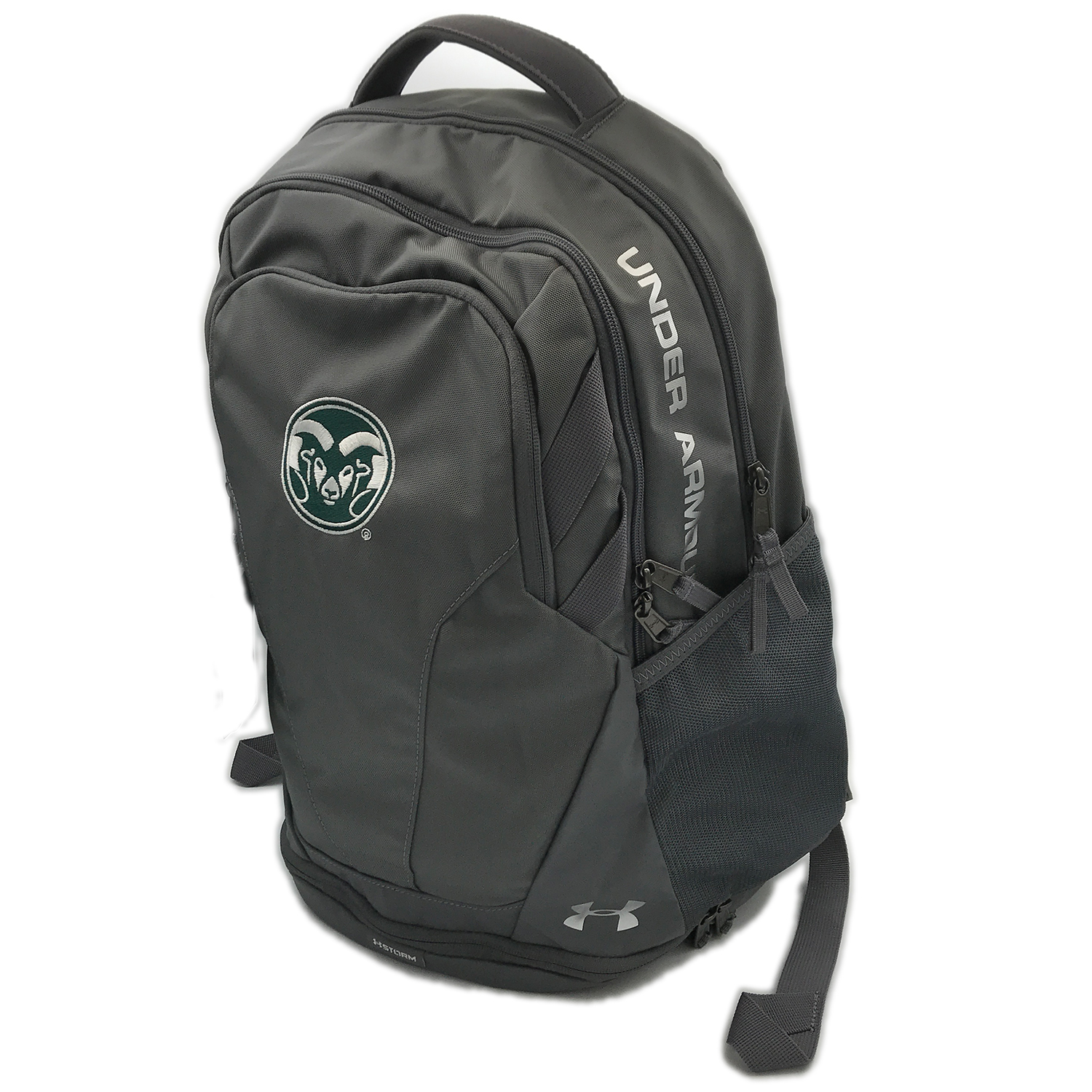 ff6a47a3eb5c Cover Image For CSU Grey Hustle 3.0 Backpack by Under Armour