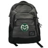 Image for Grey and Black Tribune Backpack with CSU Ram Logo by OGIO