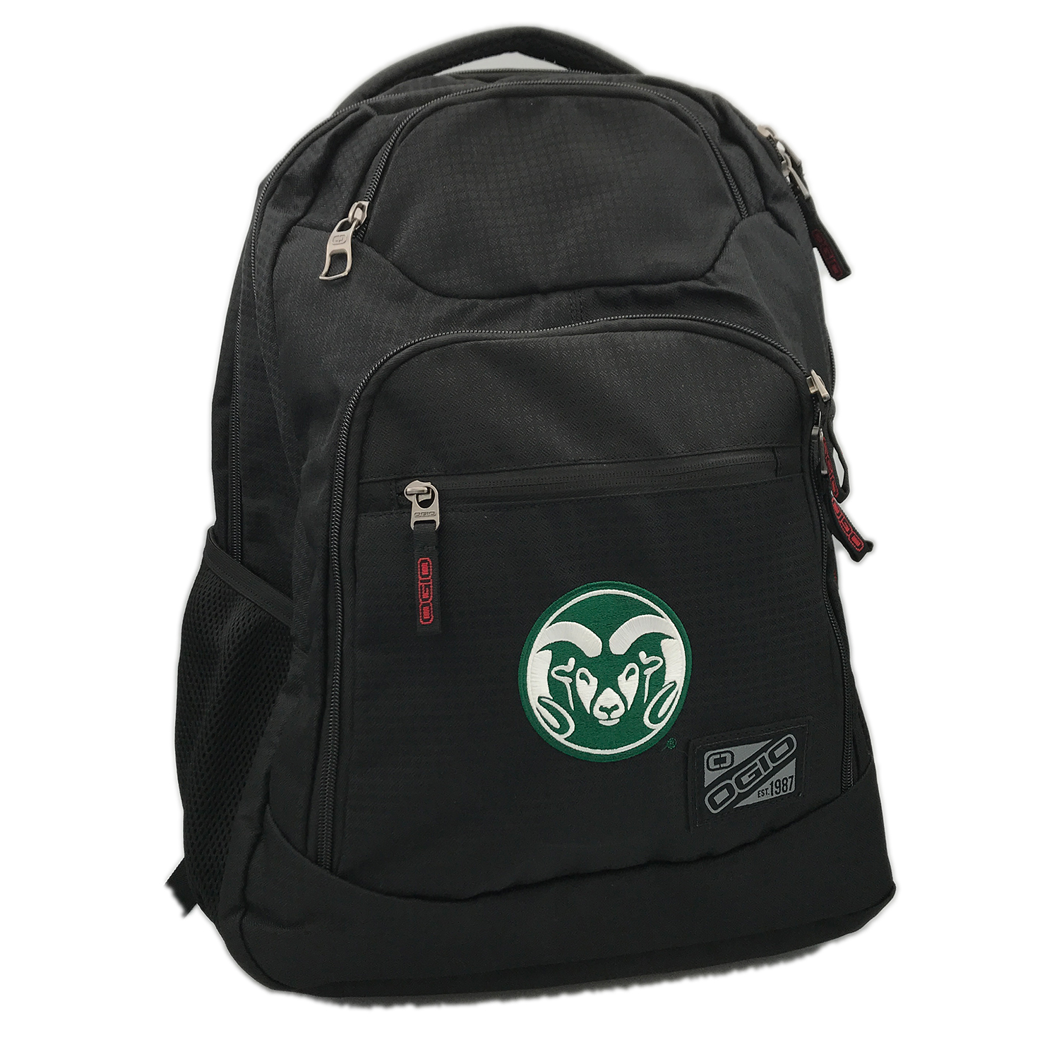 Image For Black Tribune Laptop Backpack with CSU Ram Logo by OGIO