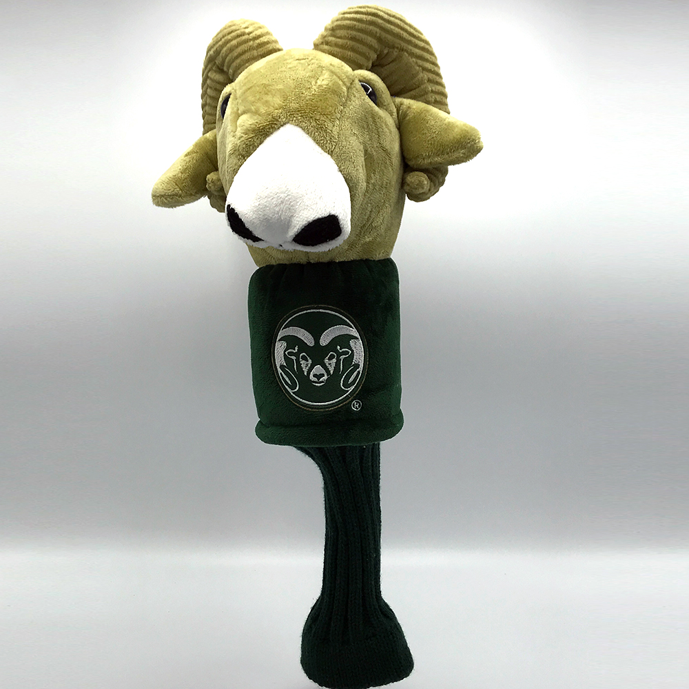 Image For Cam the Ram Mascot Golf Club Cover