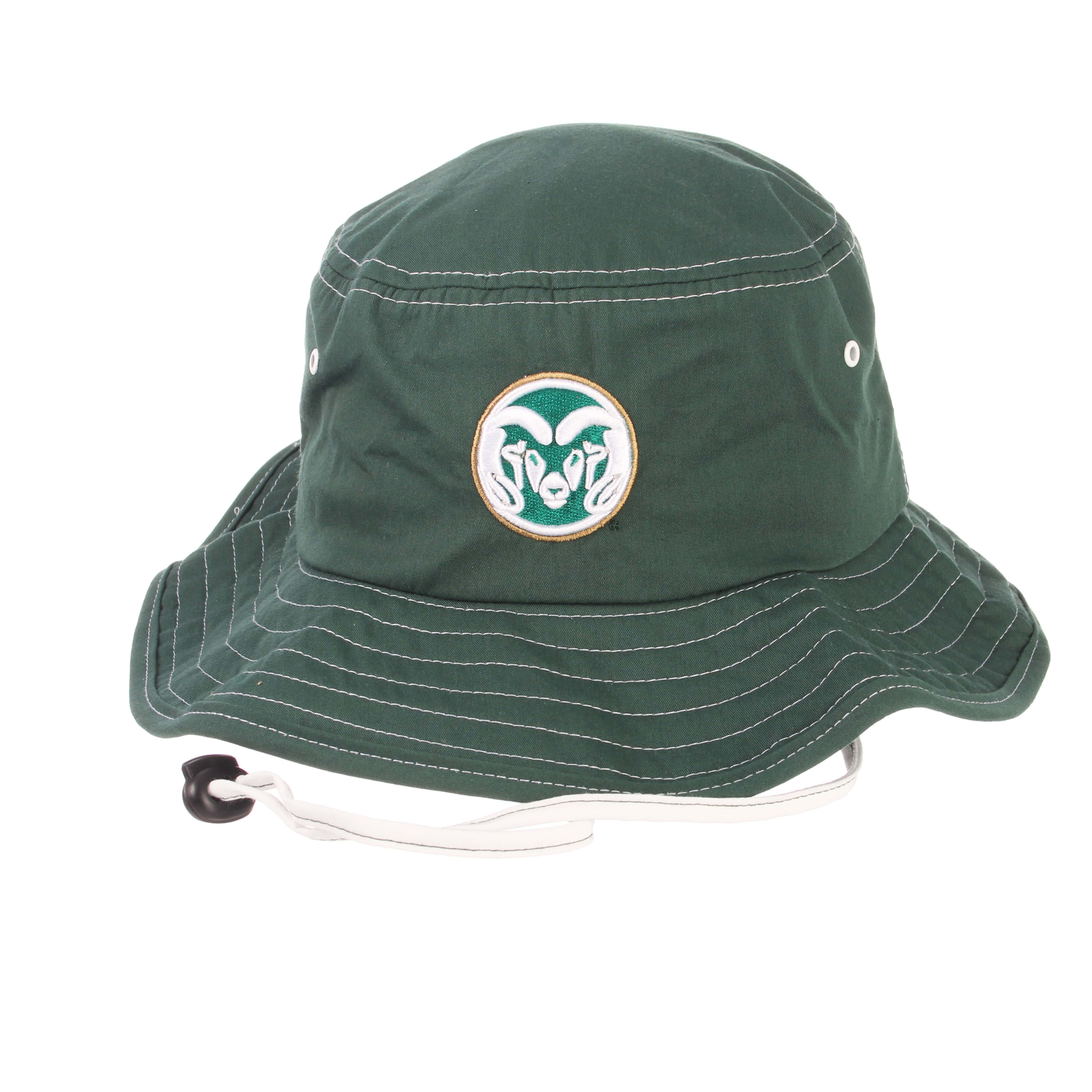 Image For Green Colorado State University Bucket Hat