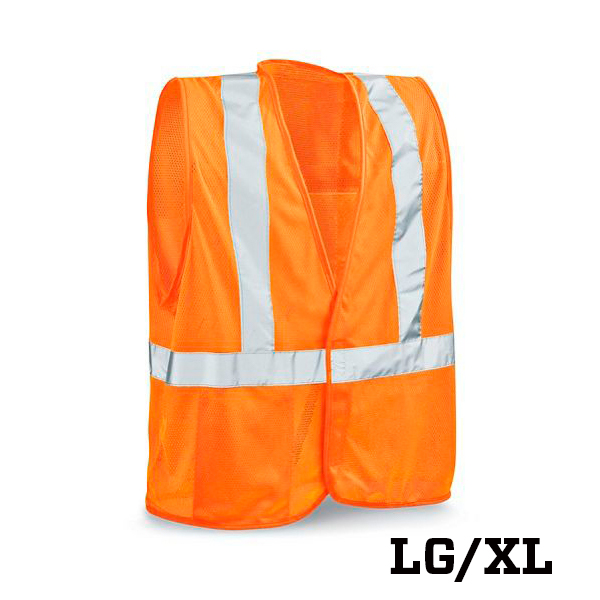 Image For Class 2 Standard Orange Safety Vest - Large/Extra Large
