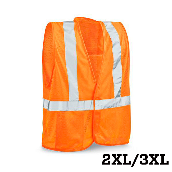 Image For Class 2 Standard Orange Safety Vest - 2XL/3XL
