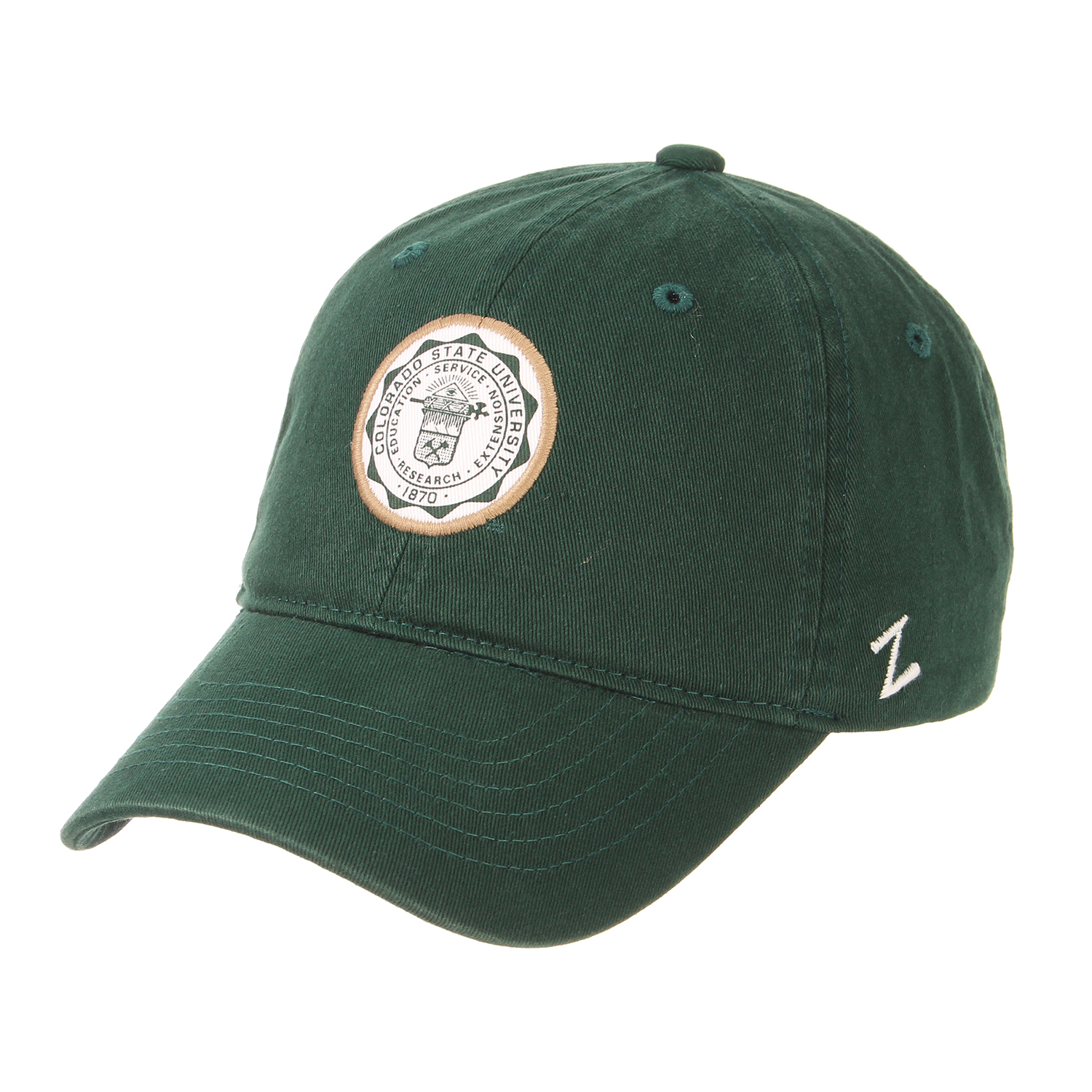 Image For Forest Green Core Scholarship Seal Hat by Zephyr