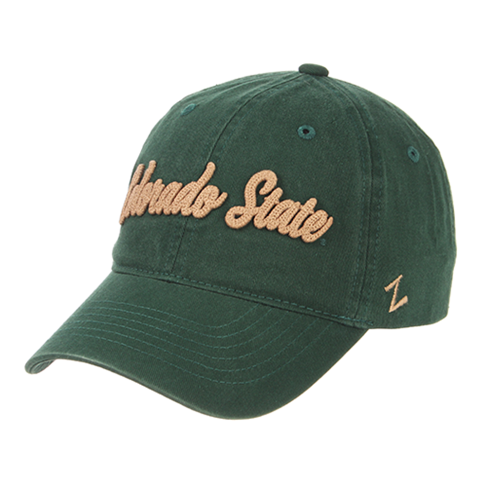a5572bb9984 Forest Green CSU Colorado State hat by Zephyr