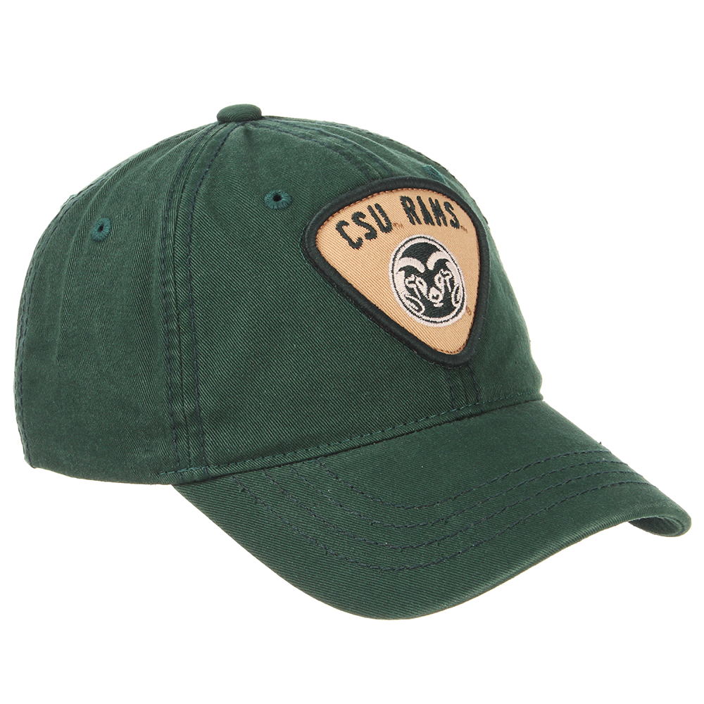 Image For Forest Green Strummer CSU Rams Hat by Zephyr
